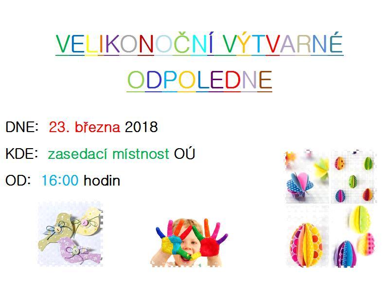 výtvarné odpoledne pro děti